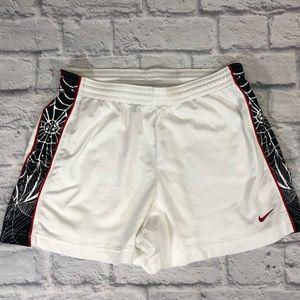 Nike Athletic Shorts Sz Medium. White/black/red